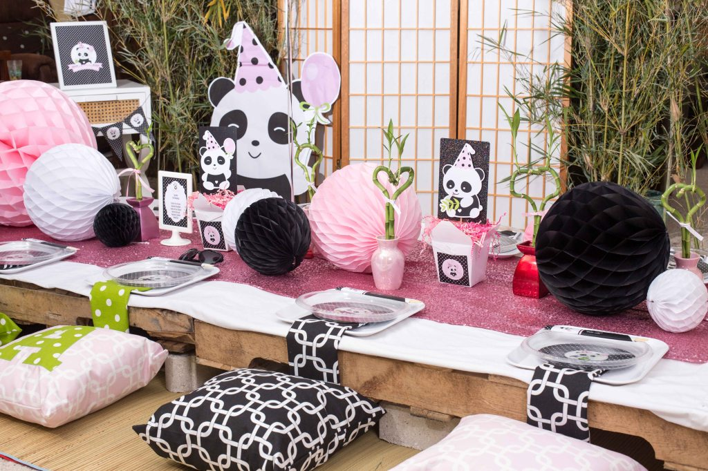Panda Birthday Party by A Party Studio