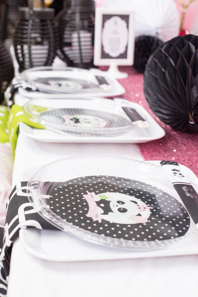 disposable personalized panda plates